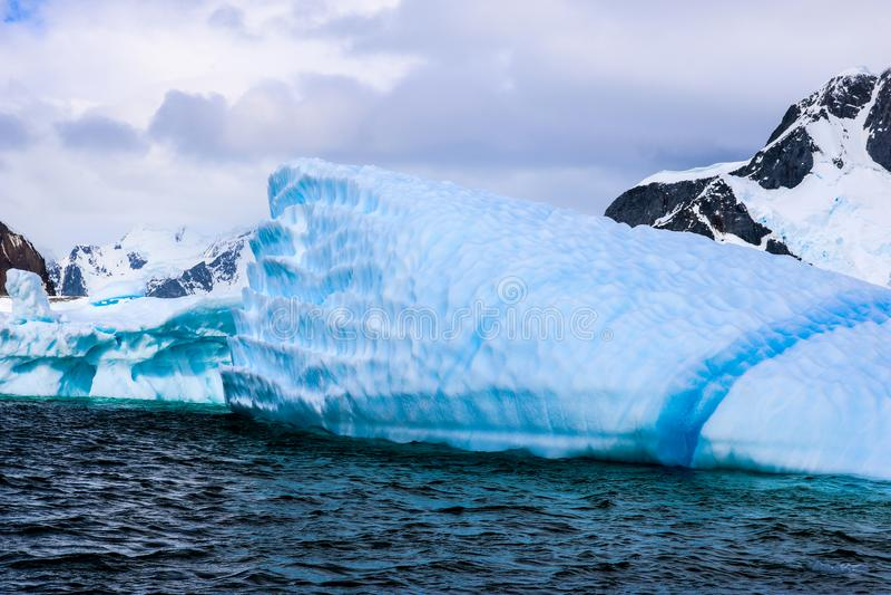 Antarctica in winter. Antarctica in a January winter 2018 stock images