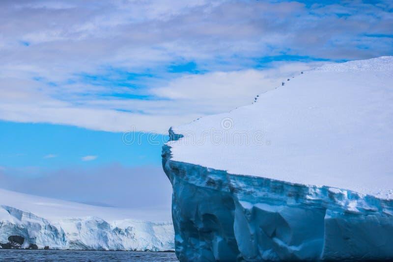 Antarctica in winter. Antarctica in a January winter 2018 stock photo