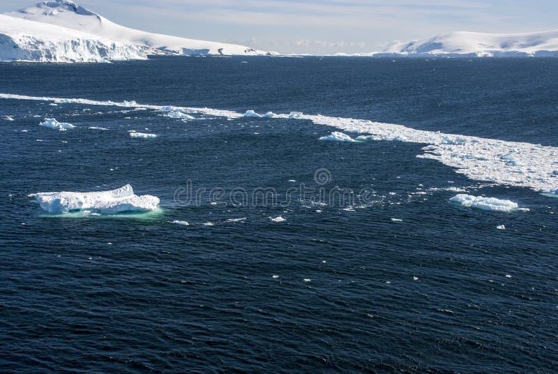 Download Antarctica - Landscape And Alleys Ice Stock Image - Image of coastline, floating: 40499421