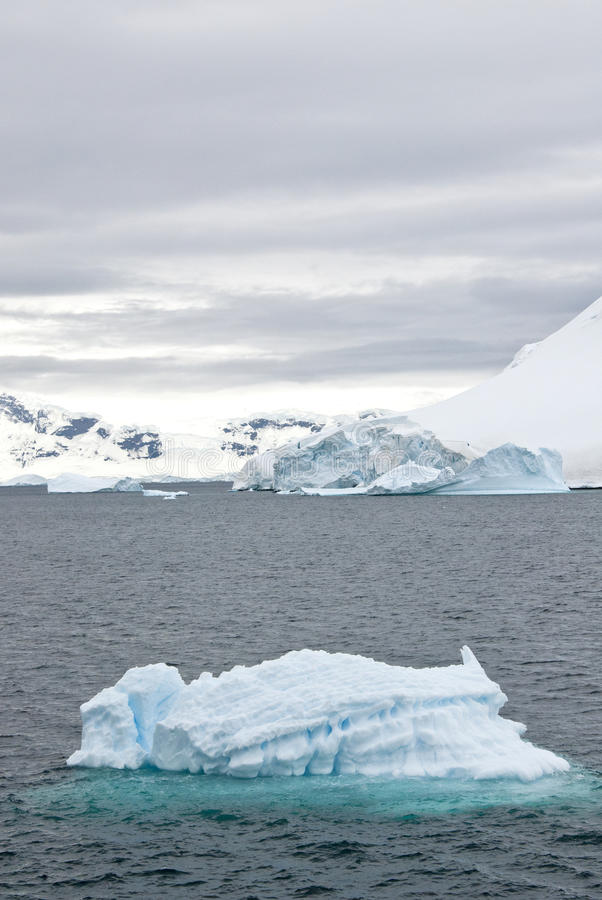Antarctica - Landscape With Iceberg royalty free stock image