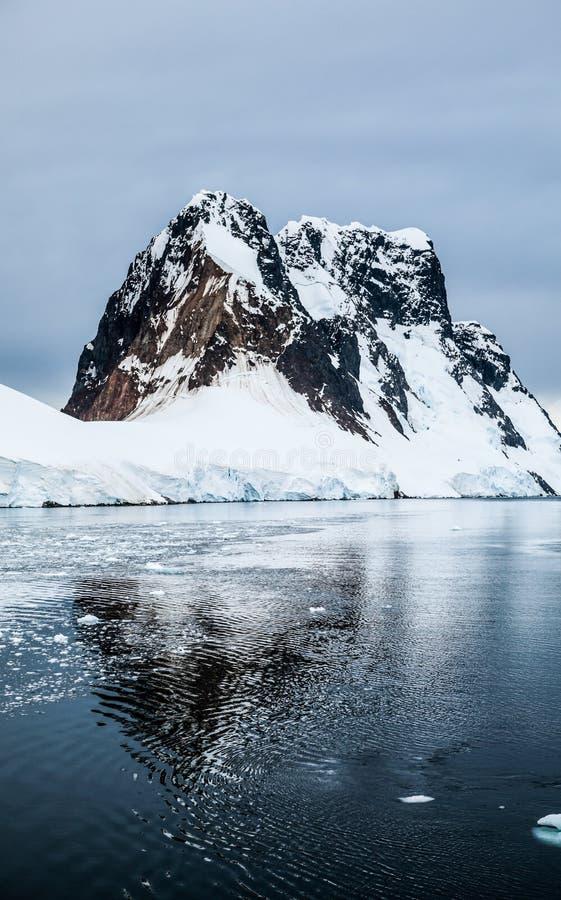 Antarctica in winter. Antarctica in a January winter 2018 stock image