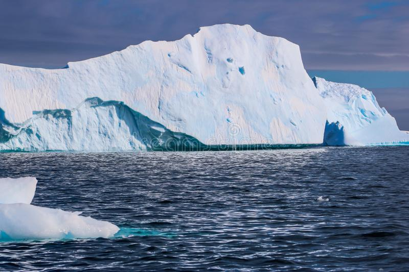 Antarctica in winter. Antarctica in a January winter 2018 stock photography