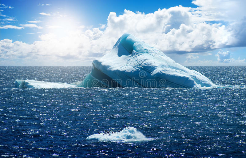 antarcticisö royaltyfri foto