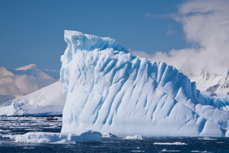 antarcticisberg arkivbilder