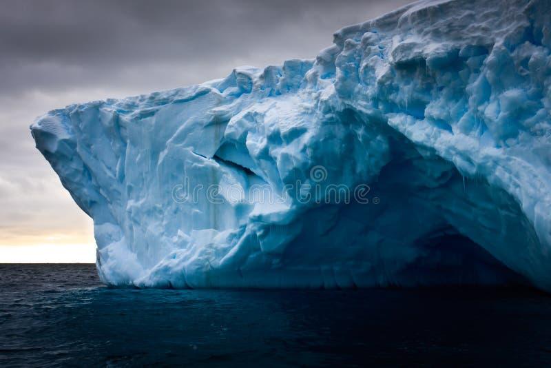 Antarctische ijsberg royalty-vrije stock foto