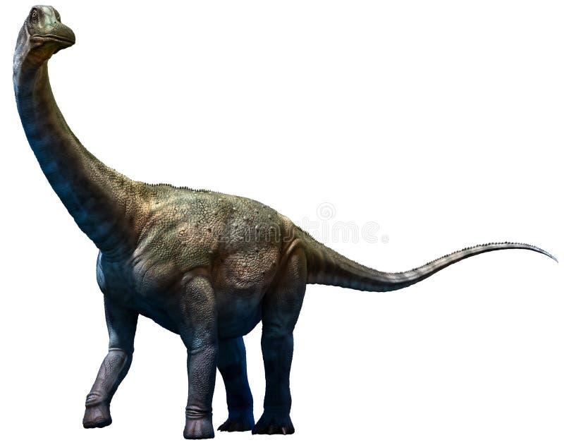 Antarctosaurus διανυσματική απεικόνιση