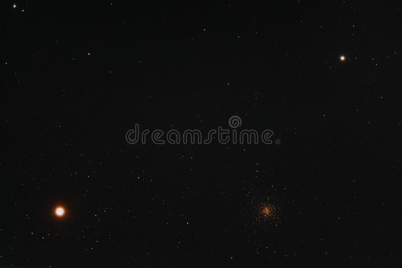 Antares地区 免版税库存图片