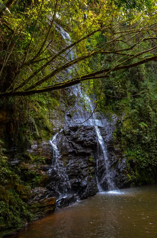 Antares瀑布 库存图片
