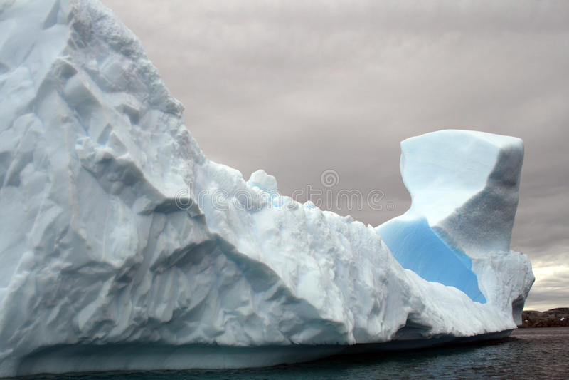Antarktik-Gletscher stockbild