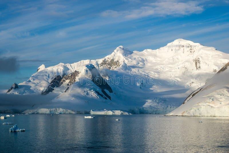 Antarktis i vinter arkivfoto