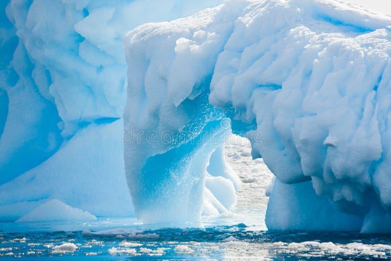Antarktischer Gletscher lizenzfreies stockbild