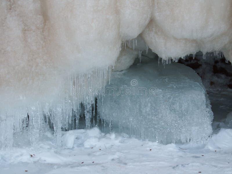 antarktyka kryształów lodu półka na zdjęcia obrazy stock