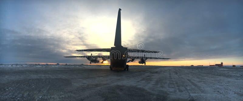 Antartica操作Marambio 免版税库存图片