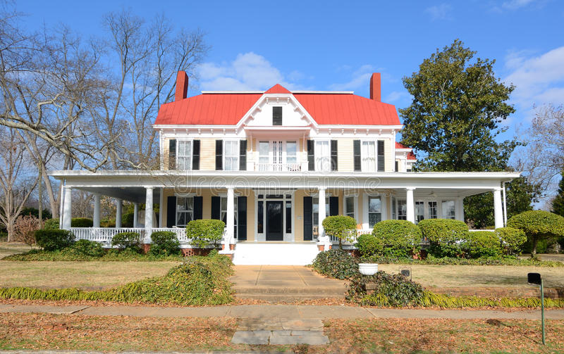 Antebellum Home stock photo