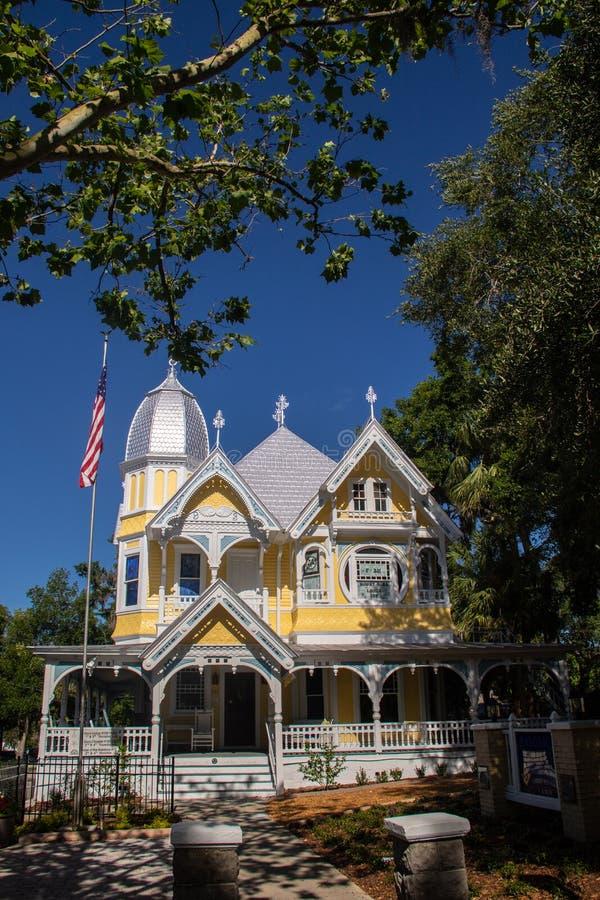 Antebellum mansion stock image