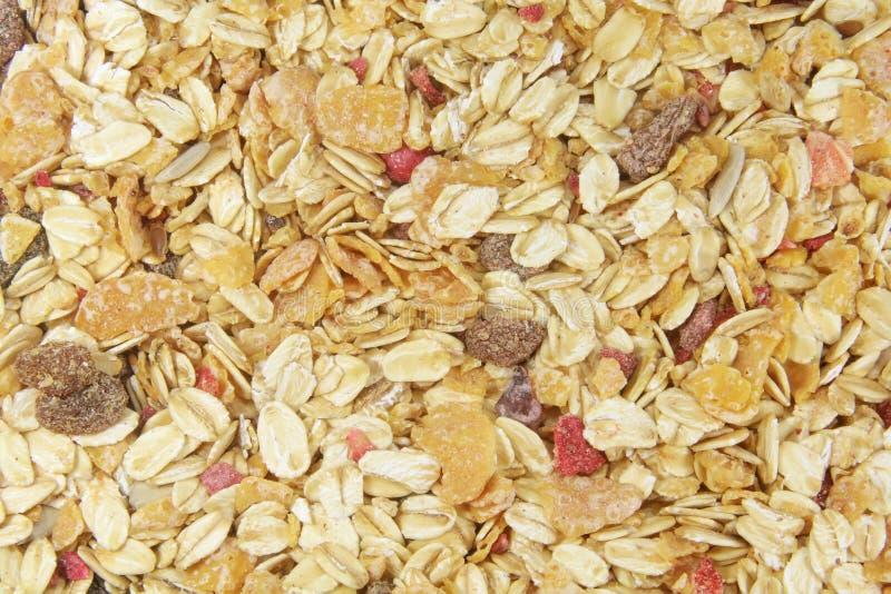 Antecedentes completos de los copos de maíz imagen de archivo