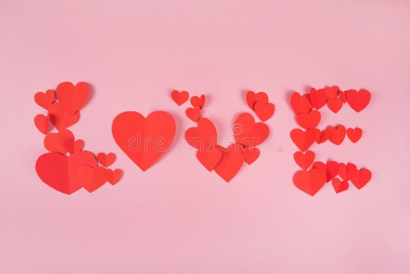 Antecedentes con corazones imagen de archivo libre de regalías
