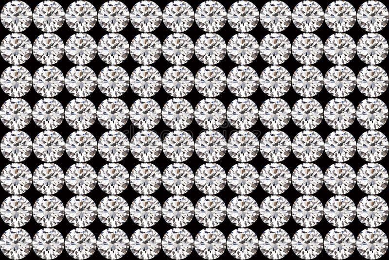 Antecedentes de los diamantes fotos de archivo libres de regalías