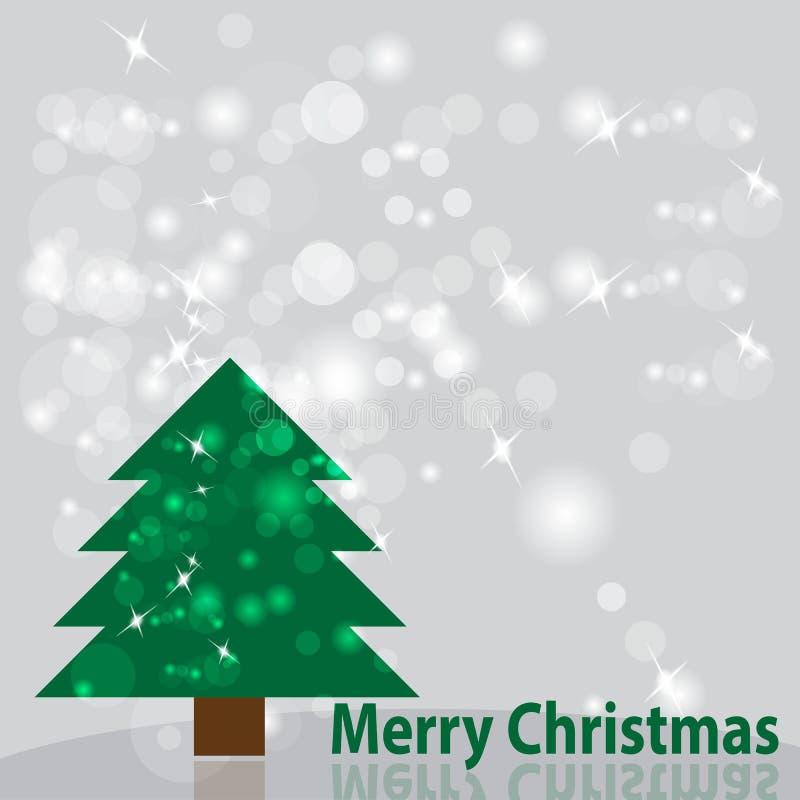 Antecedentes del árbol de navidad Ilustración del vector fotos de archivo