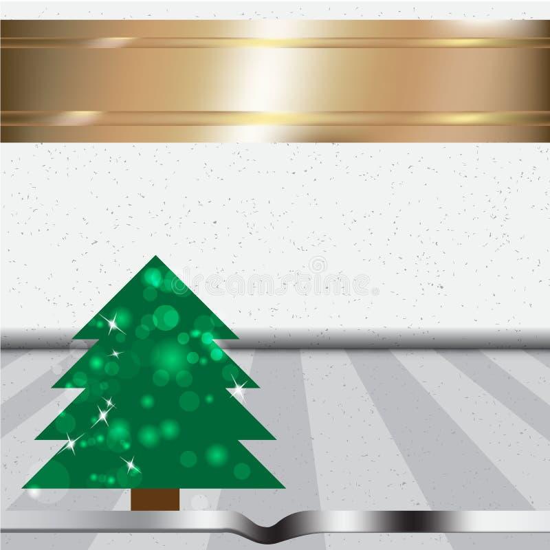Antecedentes del árbol de navidad Ilustración del vector fotos de archivo libres de regalías