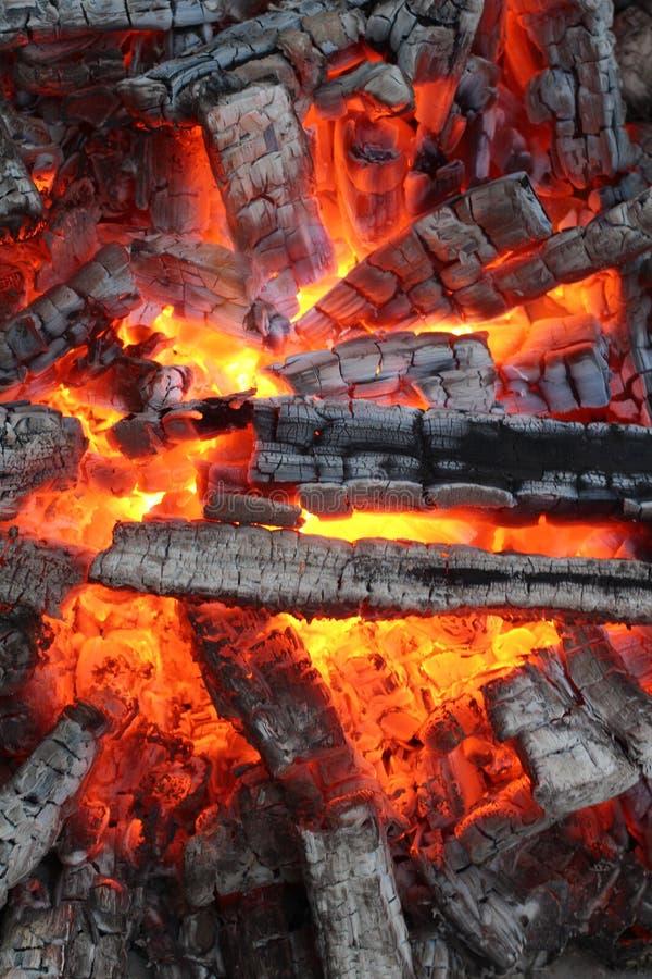 Antecedentes del fuego imagen de archivo libre de regalías