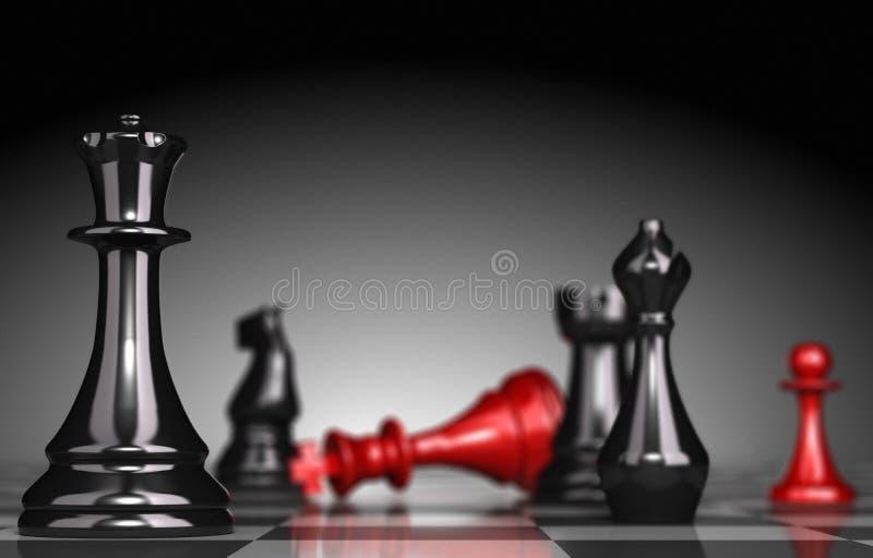 Antecipação e estratégia ilustração royalty free
