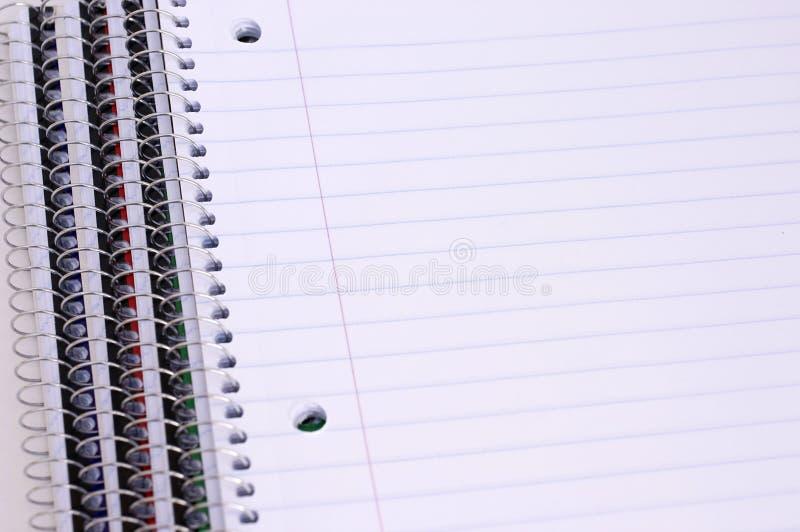 anteckningsböcker royaltyfri bild