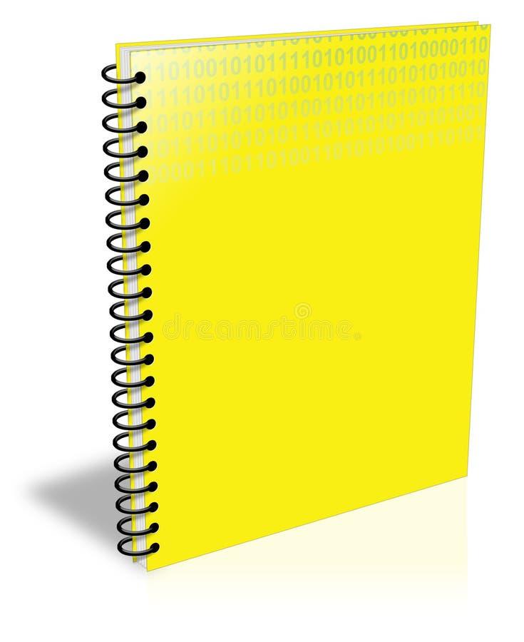 anteckningsbok stock illustrationer