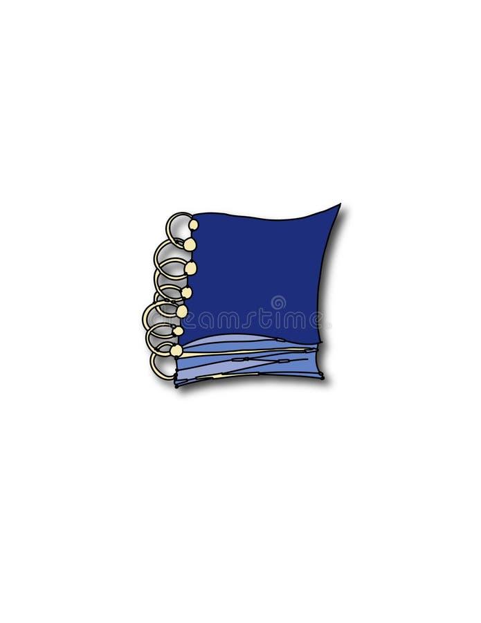 Download Anteckningsbok stock illustrationer. Illustration av saga - 516088