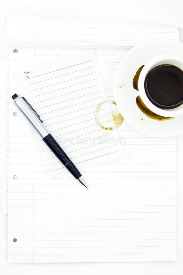 anteckningsbok arkivfoton