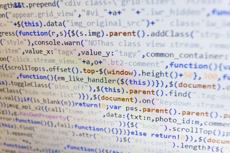 AnteckningsbokCloseupfoto Affären och AI-teknologi föreställer lärande process Html-websitestruktur CSS, JavaScript och HTML oss fotografering för bildbyråer