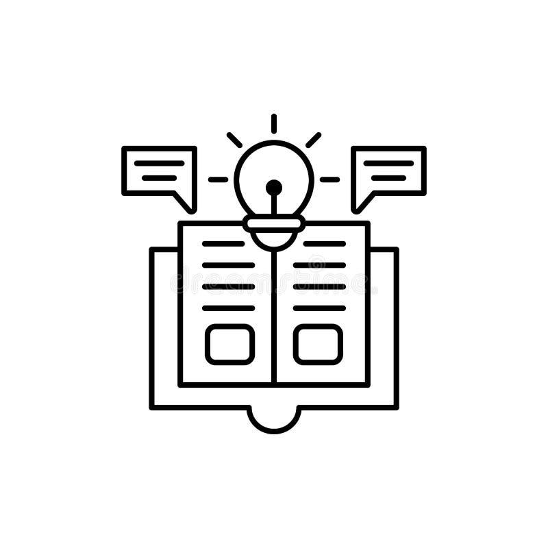 Anteil, Buch, Finanzikone Element der Geschäftsikone vektor abbildung