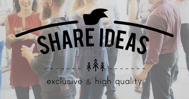 Anteil-Verbindungs-Informations-Vernetzungs-sozial-Konzept stockfotografie