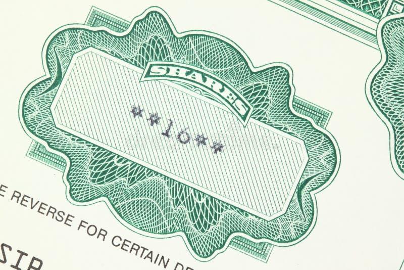Anteile lizenzfreie stockfotos