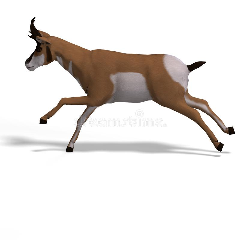 Download Antelope stock illustration. Illustration of mammalia - 9475984