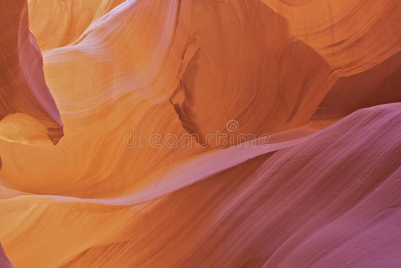 Antelope Canyon Abstract Close Up royalty free stock images