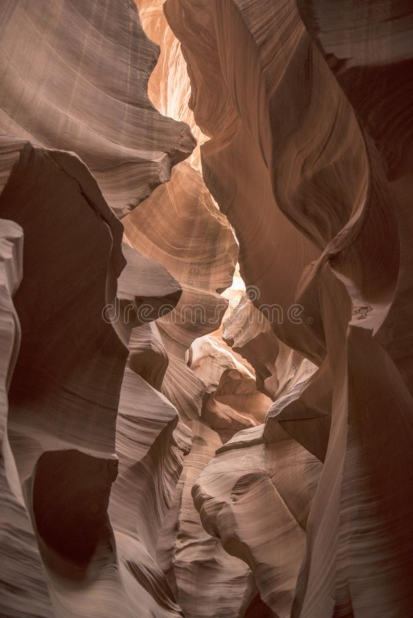 Antelope Canyon in Arizona royalty free stock images