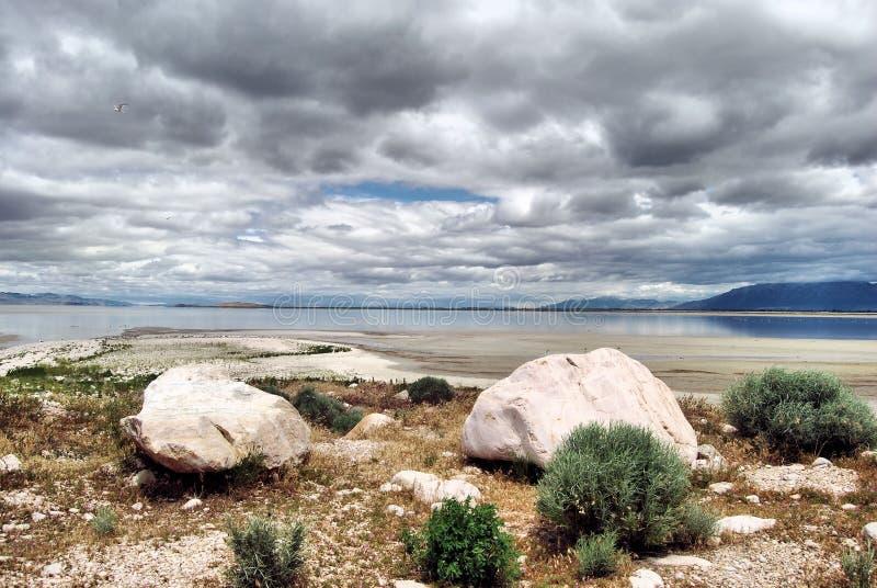 Download Antelope Rock stock image. Image of mountains, utah, lake - 25122677