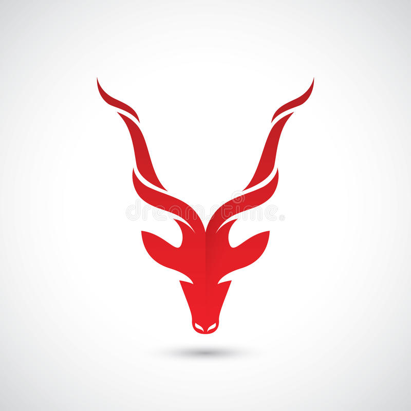 Free Antelope Sign - Vector Illustration Stock Images - 97109094
