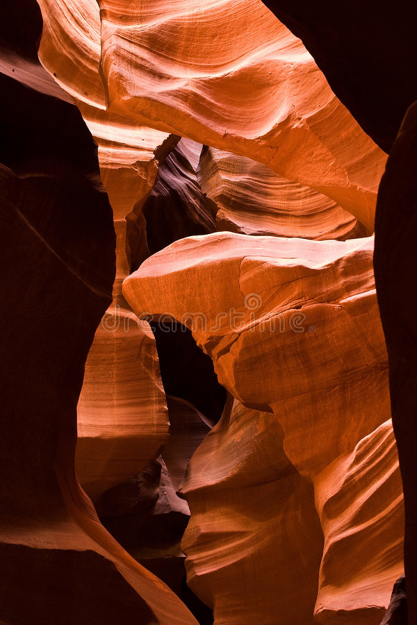 Antelope Slot Canyon royalty free stock images