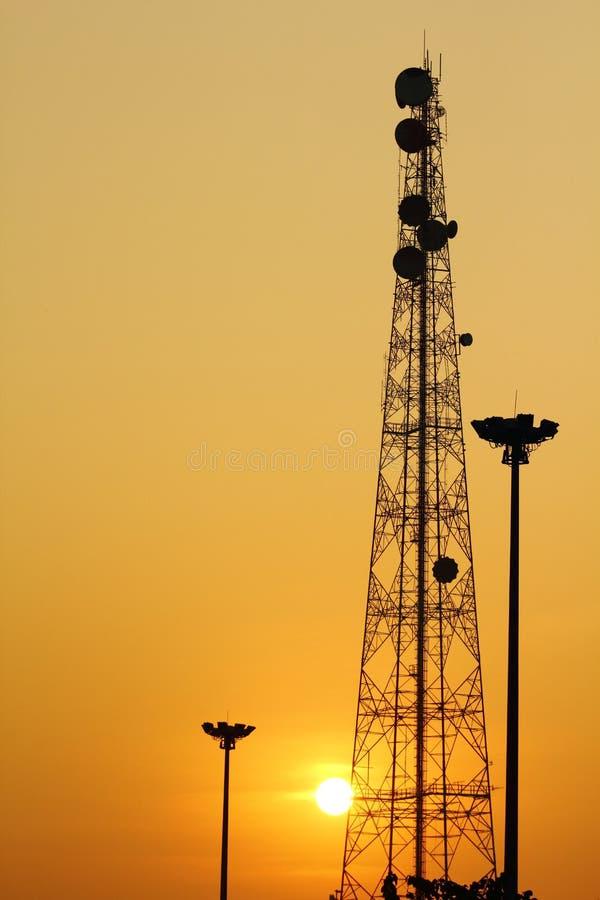 antena стоковое изображение rf