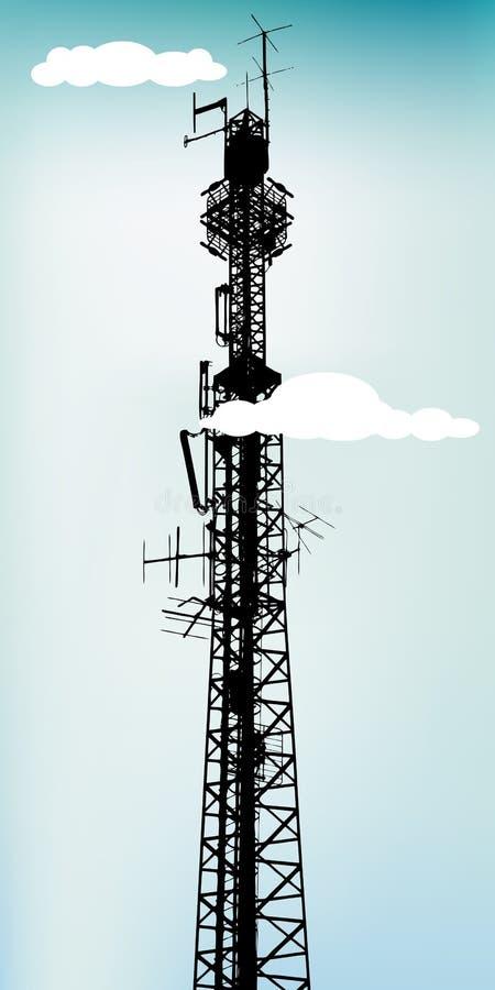 Antena ilustração do vetor