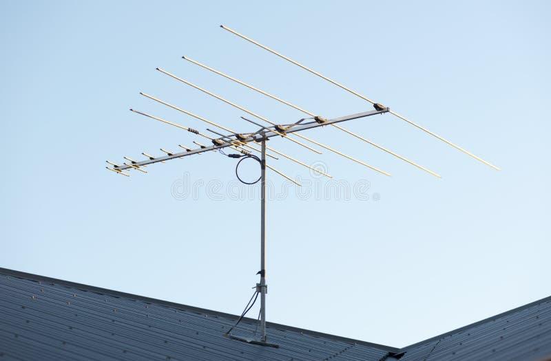 Antena da tevê de Digitas fotos de stock royalty free