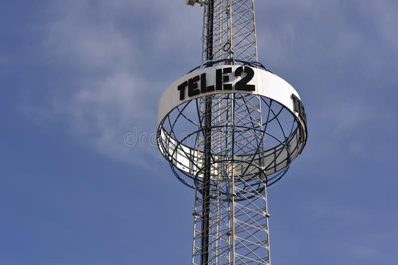 Antena da transmissão fotografia de stock royalty free