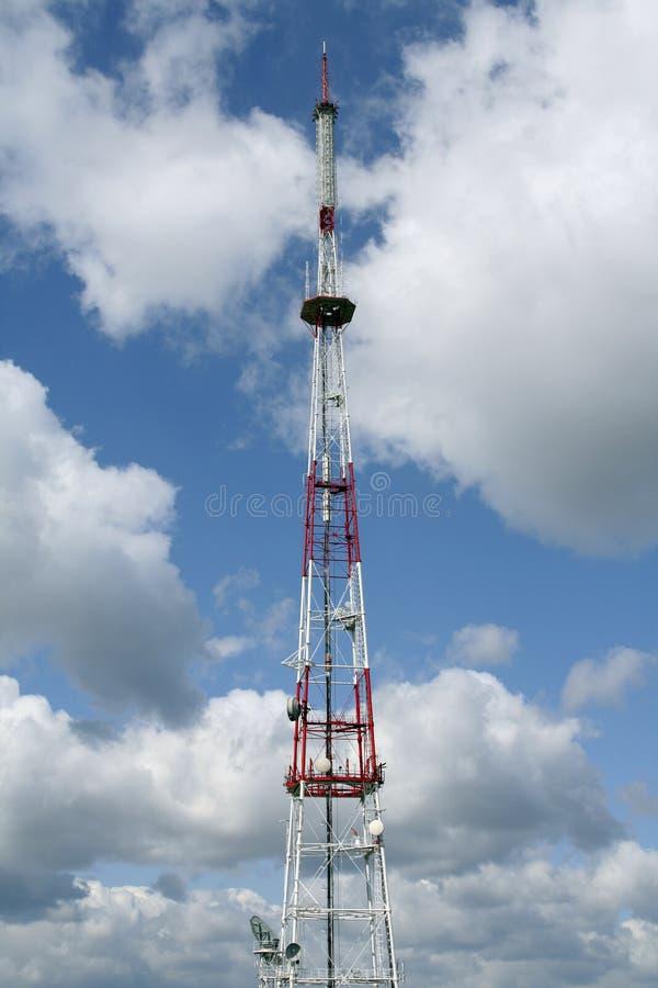 Antena das telecomunicações imagens de stock royalty free