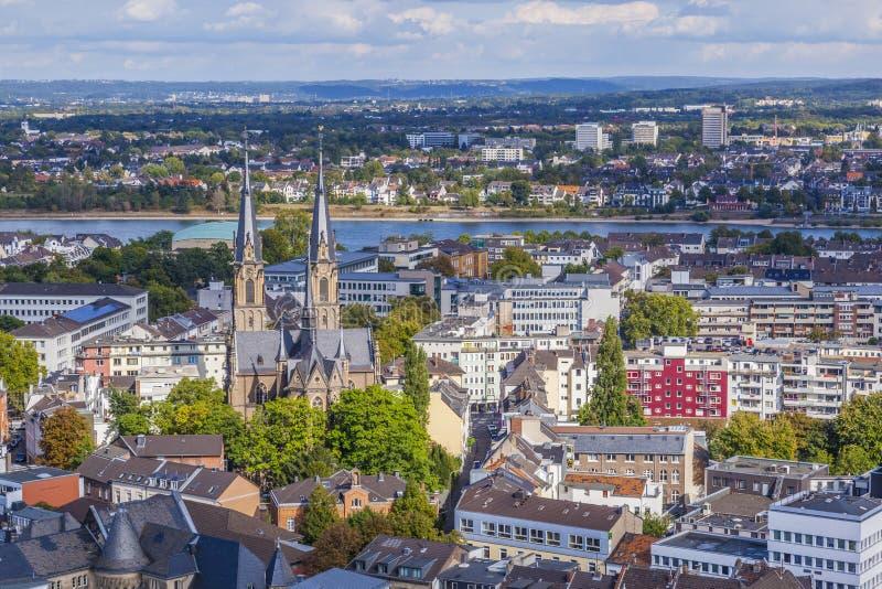 Antena de Bonn imagenes de archivo