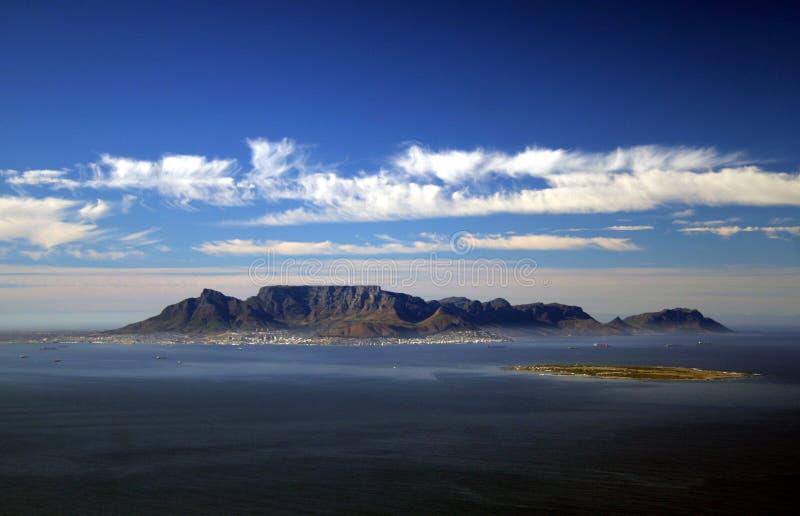 Antena de Ciudad del Cabo foto de archivo