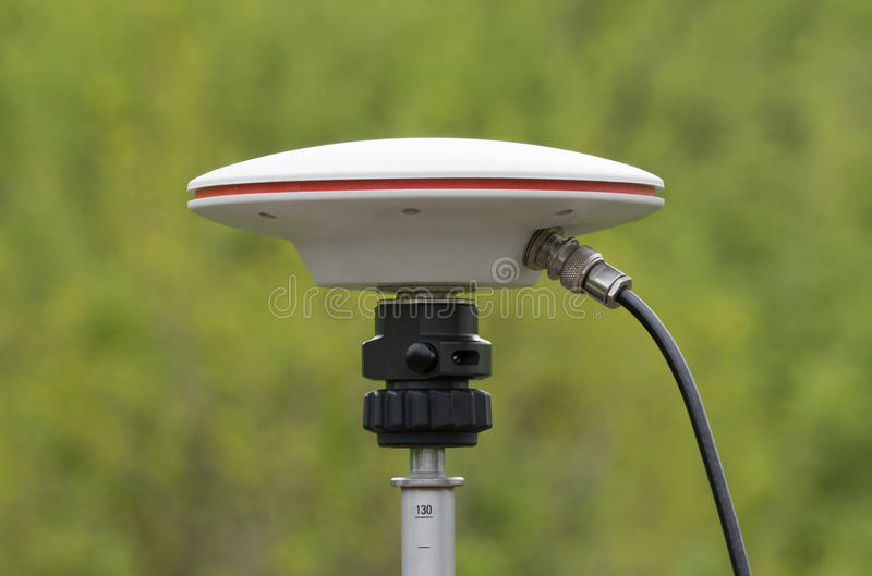 Antena de GPS imagen de archivo libre de regalías