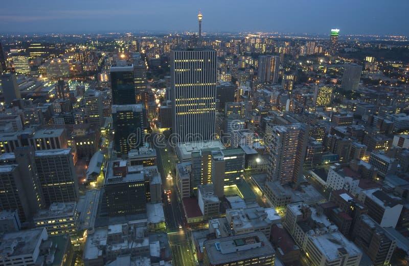 Antena de Johannesburg imágenes de archivo libres de regalías
