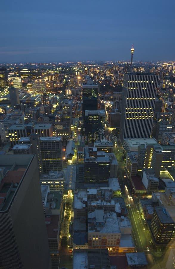 Antena de Johannesburg foto de archivo